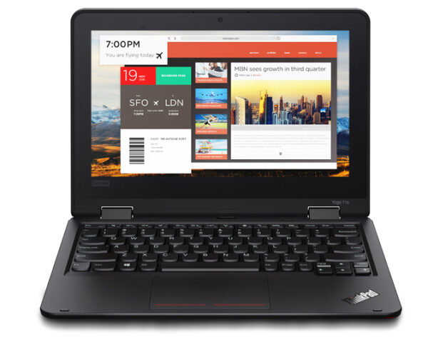 Certified Refurbished Lenovo Thinkpad 11E ( Core i3-6th gen/Touch/360 rotation)